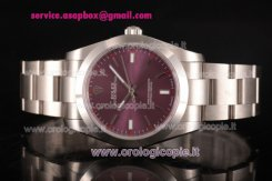 Rolex Oyster Perpetual Air King (Red Grape Oyster) Orologio - 114300-0002