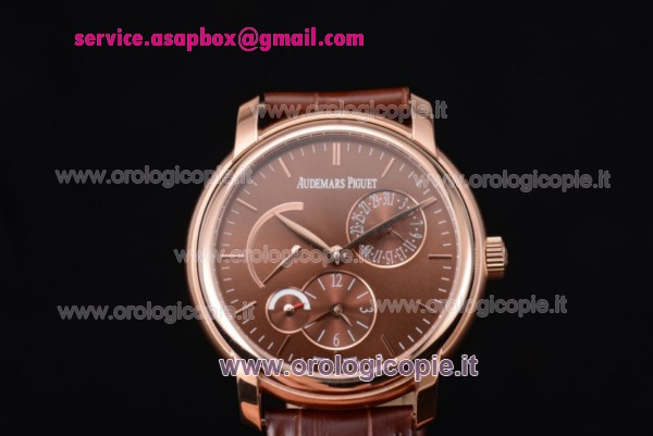 Audemars Piguet Jules Audemars Dual Time Orologio 26380OR.OO.D002CR.01.br - Clicca l'immagine per chiudere