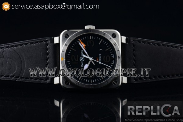 Bell&Ross BR 03-93 GMT Orologio BR 03-93 GMT Acciaio