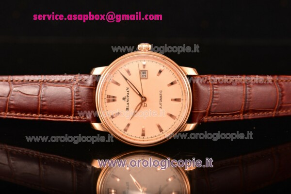 BlancPain Villeret Ultraplate Remontage Automatique orologio-6651-1127-57