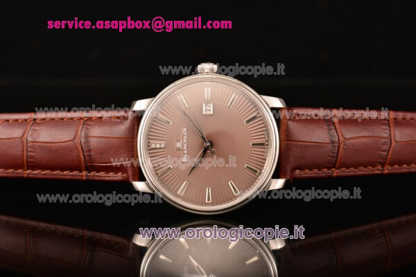 BlancPain Villeret Ultraplate Remontage Automatique orologio-6651-1127-58