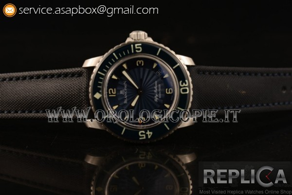 Blancpain Fifty Fathoms Automatic Orologio 5015d-1140-52b