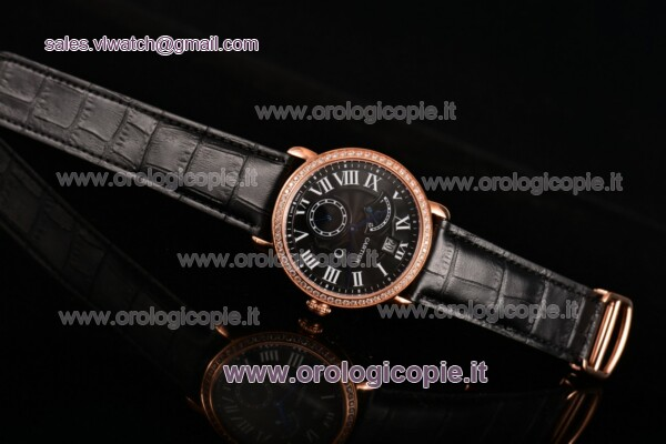 Cartier Rotonde Second Time Zone Day/Night Guarda - W1556240BKD