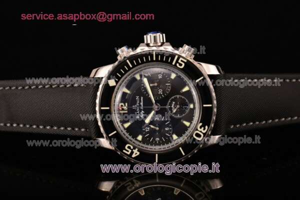 BlancPain Fifty Fathoms Chronograph Flyback Calibre F185 Guarda - 5085F-1130-52