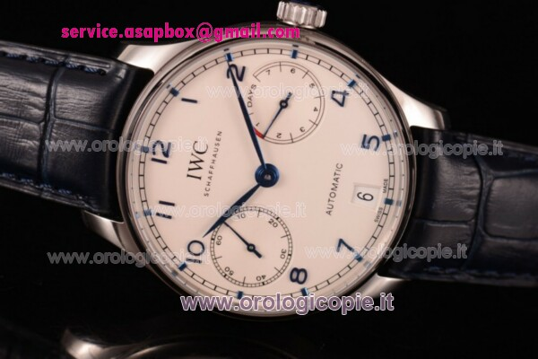1:1 IWC Portuguese Power Reserve Orologio IW500705 (ZF)
