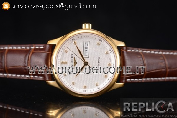 Longines Master Day Date Orologio L2.755.5.97.7GR