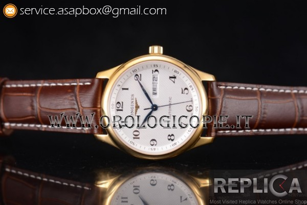 Longines Master Day Date Orologio L2.755.4.78.6GR