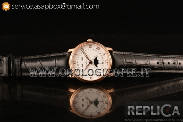 BlancPain Villeret Moon Phase Orologio 6654 (ZF)