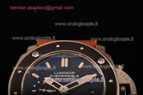 Panerai Luminor Submersible 1950's Amagnetic 3 Days Automatic Titanio Guarda - PAM00389