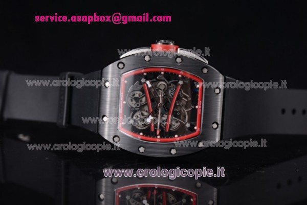 Richard Mille RM 038 Orologio PVD Cinturino in Gomma