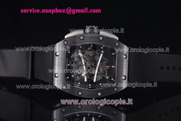Richard Mille RM 038 Cinturino in Gomma PVD Orologio