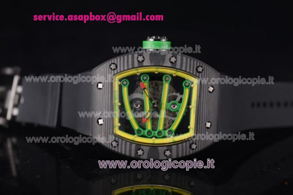 Richard Mille RM 59-01 Orologio PVD Cinturino in Gomma