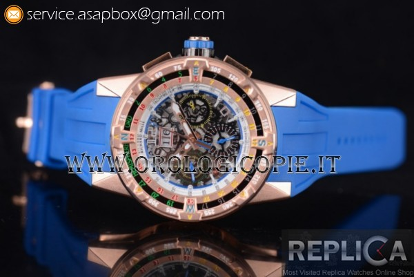 Richard Mille RM60-01 Orologio Cinturino in Gomma