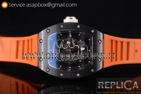 Richard Mille RM052 Orologio PVD Cinturino in Gomma