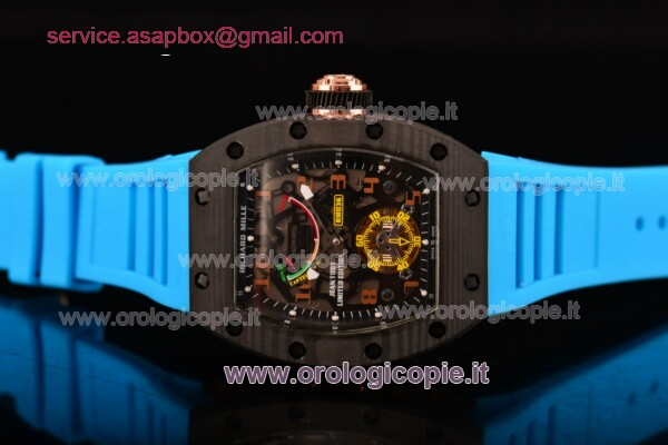 Richard Mille Jean Todt Limited Edition Blu Gomma Guarda - RM 036