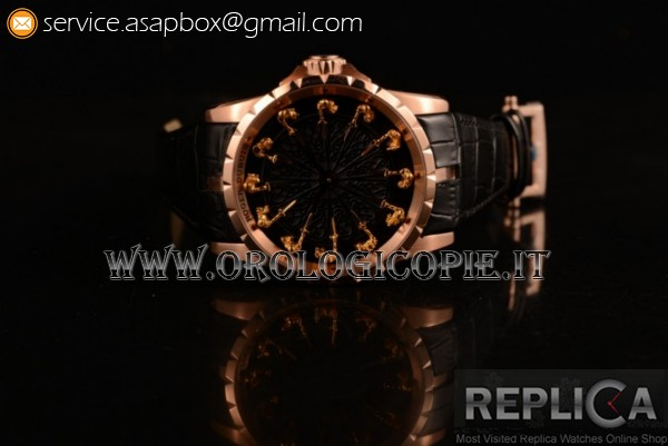 Roger Dubuis Excalibur Knights of the Round Table II RDDBEX0495RG (AAAF)